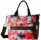 Marc Jacobs Spotted Lily Printed Biker Babybag Handbags