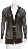 Vena Cava V-Neck Knit Cardigan