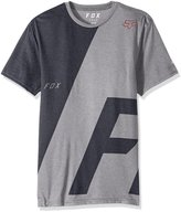 Fox Men's Inverter Short Sleeve Tech Tee, heather dark grey