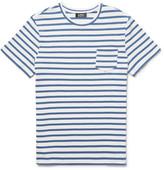 A.P.C. Michael Slim-Fit Striped Cotton-Jersey T-Shirt
