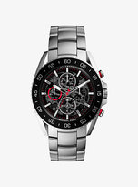 Michael Kors Jetmaster Silver-Tone Stainless Steel Watch
