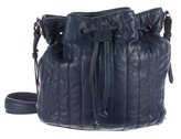 Elizabeth and James Quilted Leather Bucket