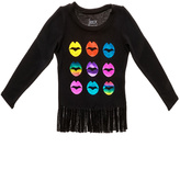 Rock & Candy Rock Candy Lips Fringe Sweater