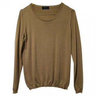 Basile Camel Wool Knitwear for Women Vintage