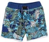 Little Marc Jacobs Sale - Jungle Fleece Shorts
