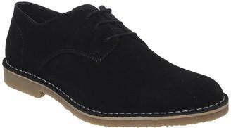Office Celsius Desert Shoe Black Suede