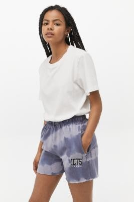 Urban Outfitters iets frans. Tie-Dye Jogger Shorts - Blue S at