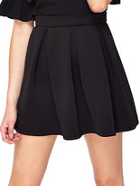 Miss Selfridge Scuba Skater Skirt