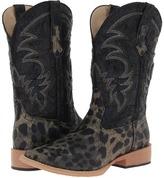 Roper Square Toe Leopard Print Cowboy Boot