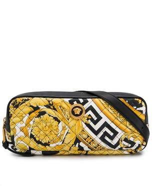 Versace Barocco print belt bag