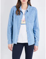 Paige Corina denim shirt