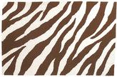 Chocolate Zebra Rug
