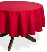 "Threshold Tablecloth Red - (70"" Round"