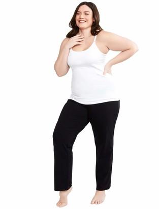 Motherhood Maternity Women's Maternity Plus-Size Full Length Sleep Knit Pants