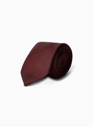 Topman Mens Red Burgundy Tie