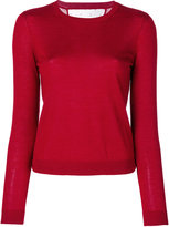 RED Valentino slim-fit crew neck jumper