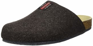 Weeger Unisex Adult 48017 Slippers - Brown 35 EU
