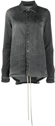 Rick Owens Long-Sleeved Denim Over Jacket