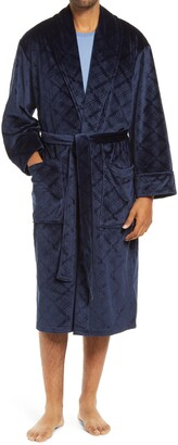Daniel Buchler Diamond Cut Velour Robe