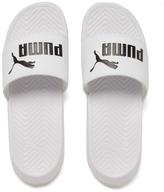 Puma Men's Popcat Slide Sandals White/Black
