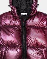 Stone Island Real Down Hood Blouson UBIQ Exclusive (Burgundy). <. > All /  Men / Clothing / Outerwear / Jackets / Stone Island Jackets