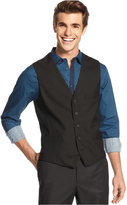 INC International Concepts Men's Textured Vest, Created for Macy's