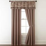 Liz Claiborne Mallorca 2-pk. Rod-Pocket Curtain Panels