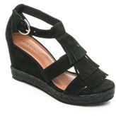 Bernardo Kaya Suede Wedge Sandals