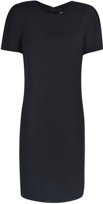 Giorgio Armani Short-sleeve Mid-length Dress