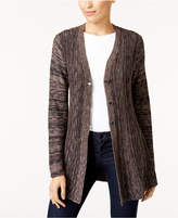 Style&Co. Style & Co Marled Cardigan, Created for Macy's