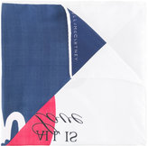 Stella McCartney ice cream print scarf - women - Silk - One Size