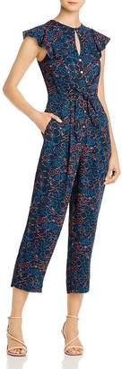Whistles Floral Cropped Jumpsuit - 100% Exclusive