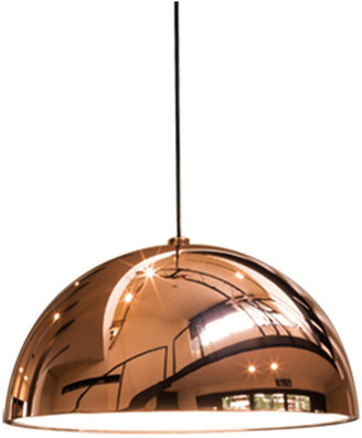 Seed Design Large Dome Pendant, Copper