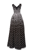 Oscar de la Renta Sleeveless Daffodil Dress