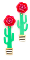 Kate Spade Cactus Statement Earrings