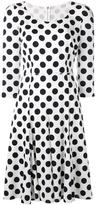 Dolce & Gabbana polka dot dress - women - Silk/Cotton/Nylon/Spandex/Elastane - 40
