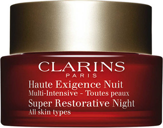 Clarins Super Restorative Night Cream - All Skin Types 50ml