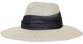 Eugenia Kim Emmanuelle Woven-trimmed Hemp-blend Sun Hat