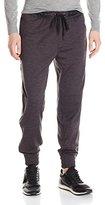 DKNY Men's Space Dye Fleece/ Ripstop Knit Pant