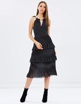 Whistles Imie Amena Print 3 Tiered Dress