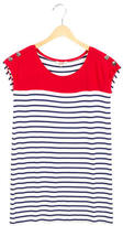 Junior Gaultier Girls' Striped Short Sleeve Dress