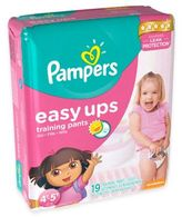 Pampers Easy Ups® 19-Count Size 4T-5T Trainers for Girls