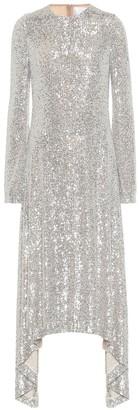 Galvan Modern Love sequined midi dress
