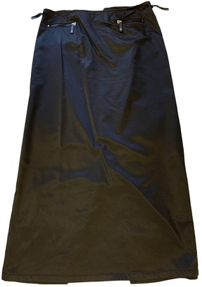 Fendi Black Synthetic Skirts