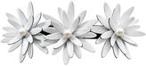 Smallflower Moliabal Milano Three Flower + Pearl Barrette