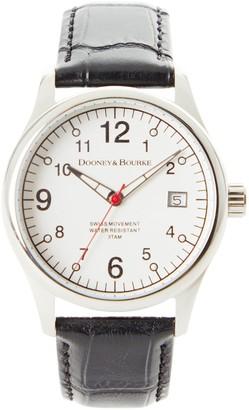 Dooney & Bourke Watches Fulton Croco Watch