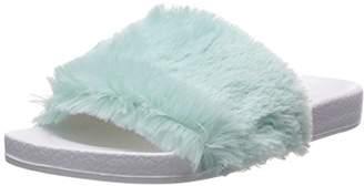 Dearfoams Women's Molded Footbed Pile Slide