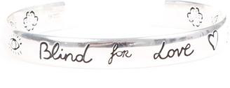 Gucci Silver Bangle Bracelet