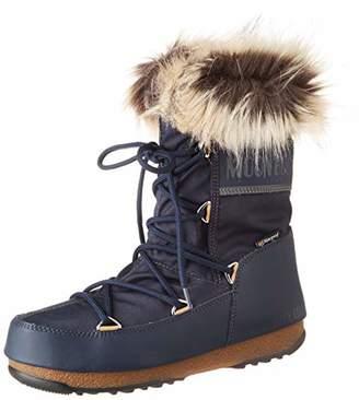 Moon Boot Moon-boot Unisex Adults Monaco Low Wp2 Snow Boots, Blue (Denim Blu 003)