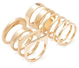 Forever 21 Geo Plated Ring Set